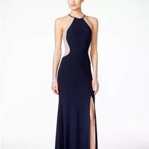 🆕️Xscape Beaded Halter Gown